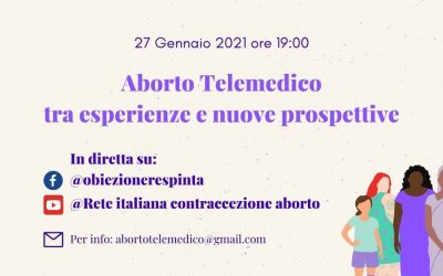Aborto telemedico tra esperienze e nuove prospettive