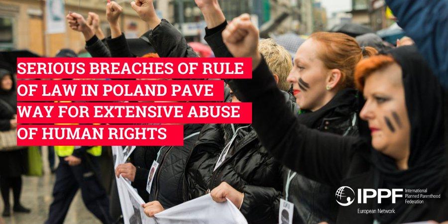 Noi, donne europee, non rimarremo in silenzio. Manifesto a sostegno delle donne polacche.